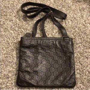 Gucci Guccissima Crossbody Messenger Bag
